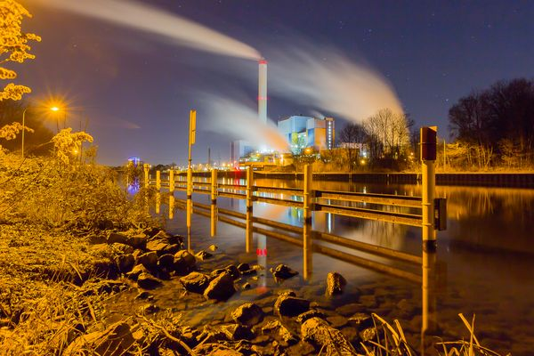 Kanal-Feuerwerk III