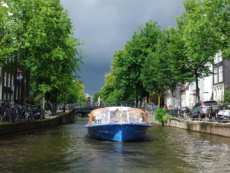 Kanal in Amsterdam