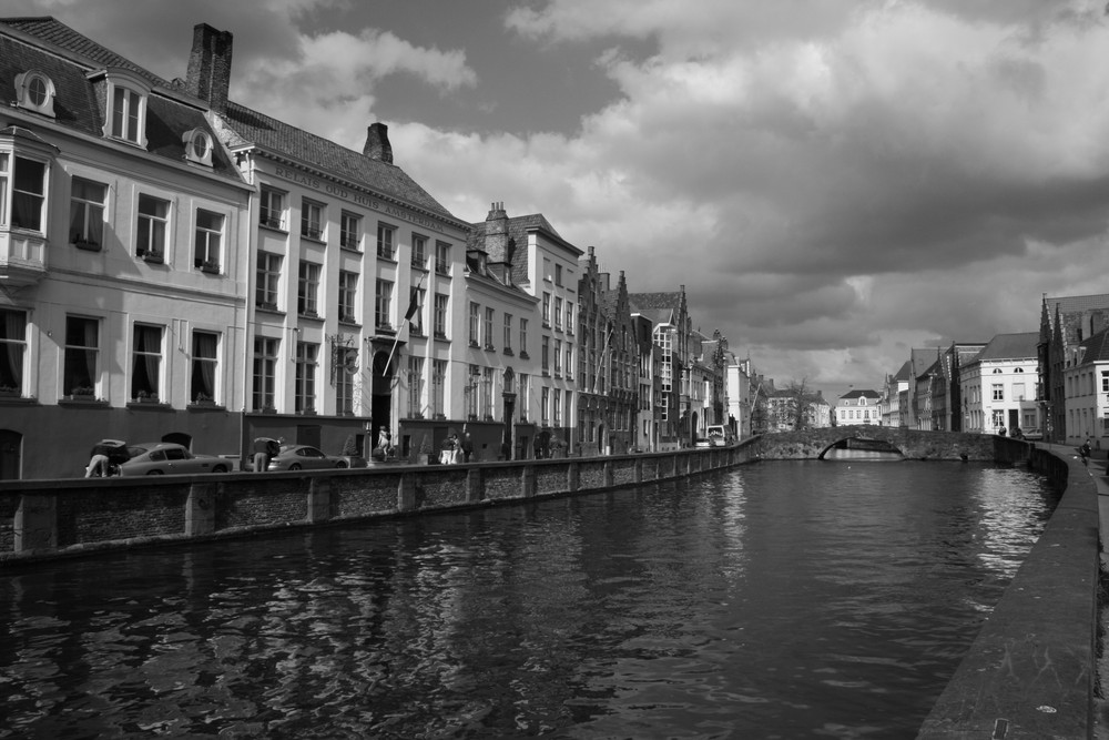 Kanal in Brügge 1