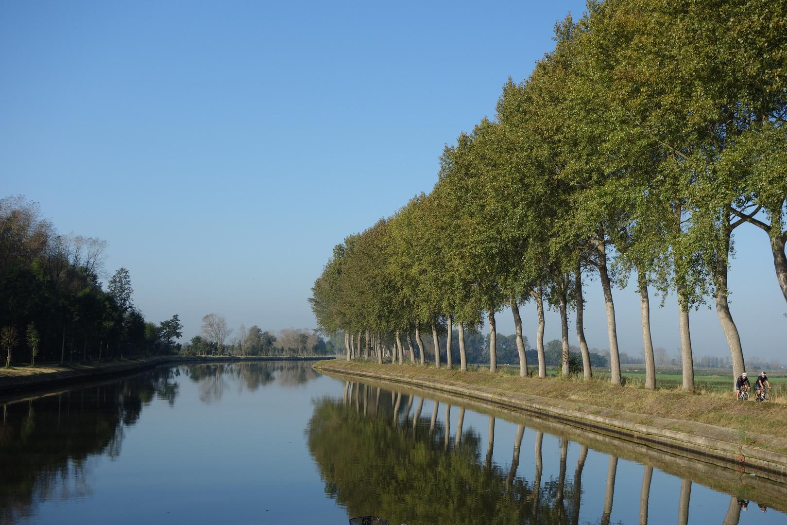 Kanal in Flandern, für Wolfgang