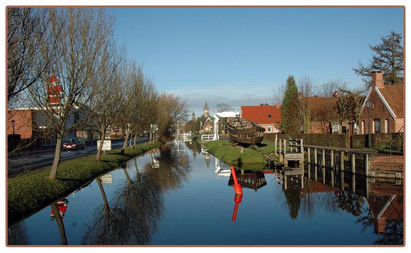 Kanal in Papenburg