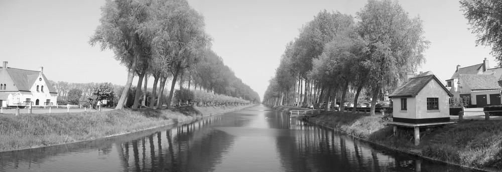 Kanal von Brügge nach Damme