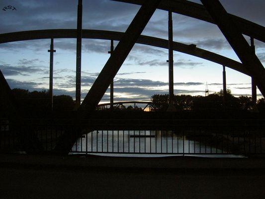 Kanalbrücken bei Amelsbüren