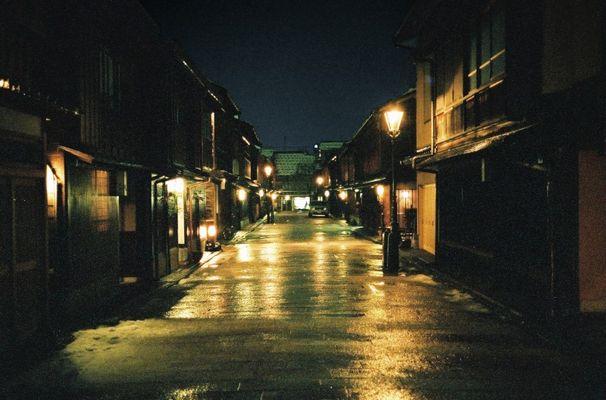 Kanazawa Geisha Distrikt