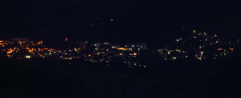 Kandern bei Nacht