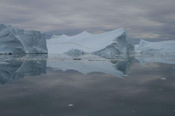 Kanga-Eisfjord bei Ilulissat, Westgrönland