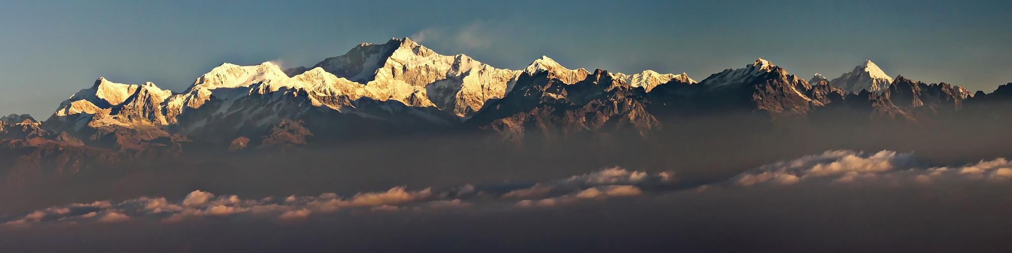 Kangchendzönga Massiv 8586m