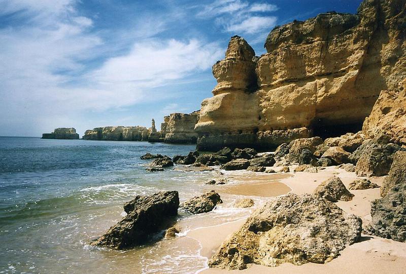 """""""Kaninchen""""-Strand an der Algarve"""