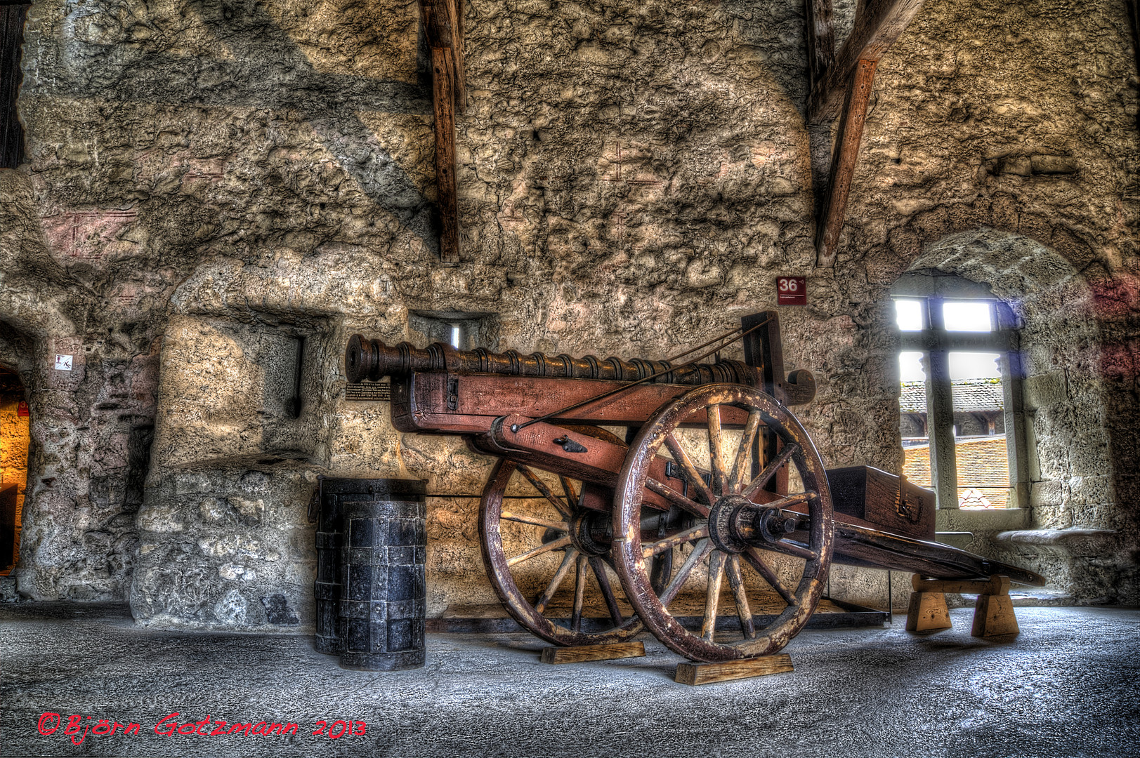 Kanone - Schloss Chillon