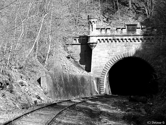 Kanonenbahn - Tunnelportal