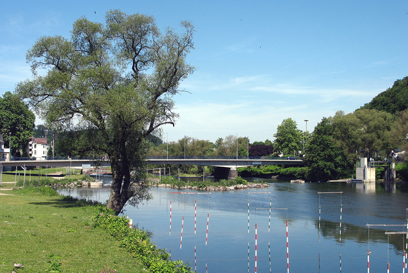 Kanustrecke auf der Lenne (Hohenlimburg)