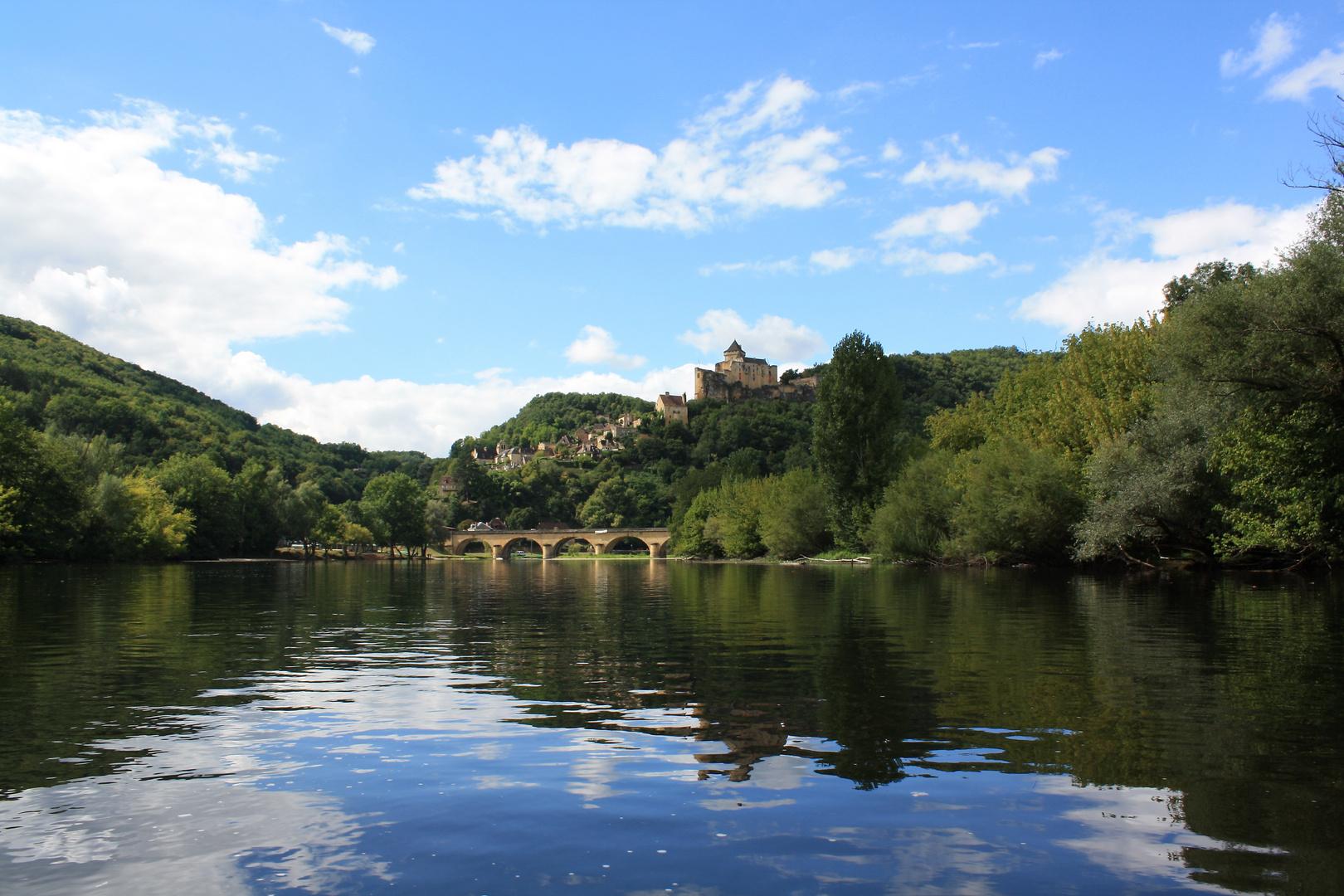 Kanutrip auf der Dordogne / Frankreich