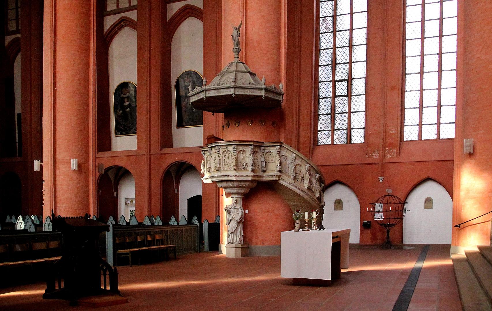 Kanzel der Michaeliskirche Lüneburg