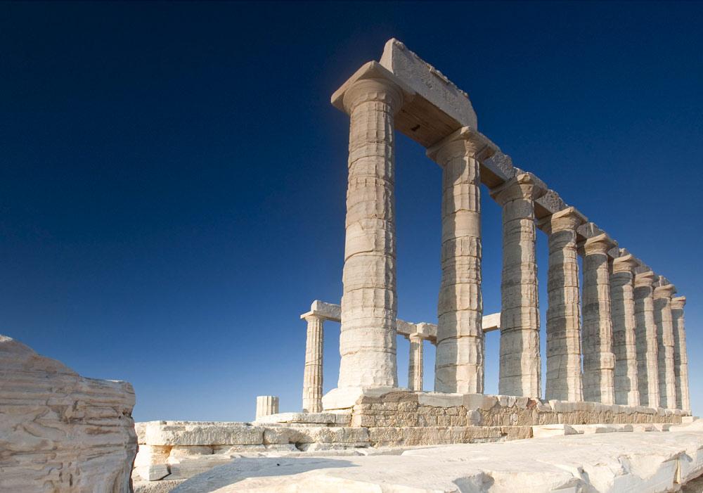 Kap Sounio - Tempel des Poseidon