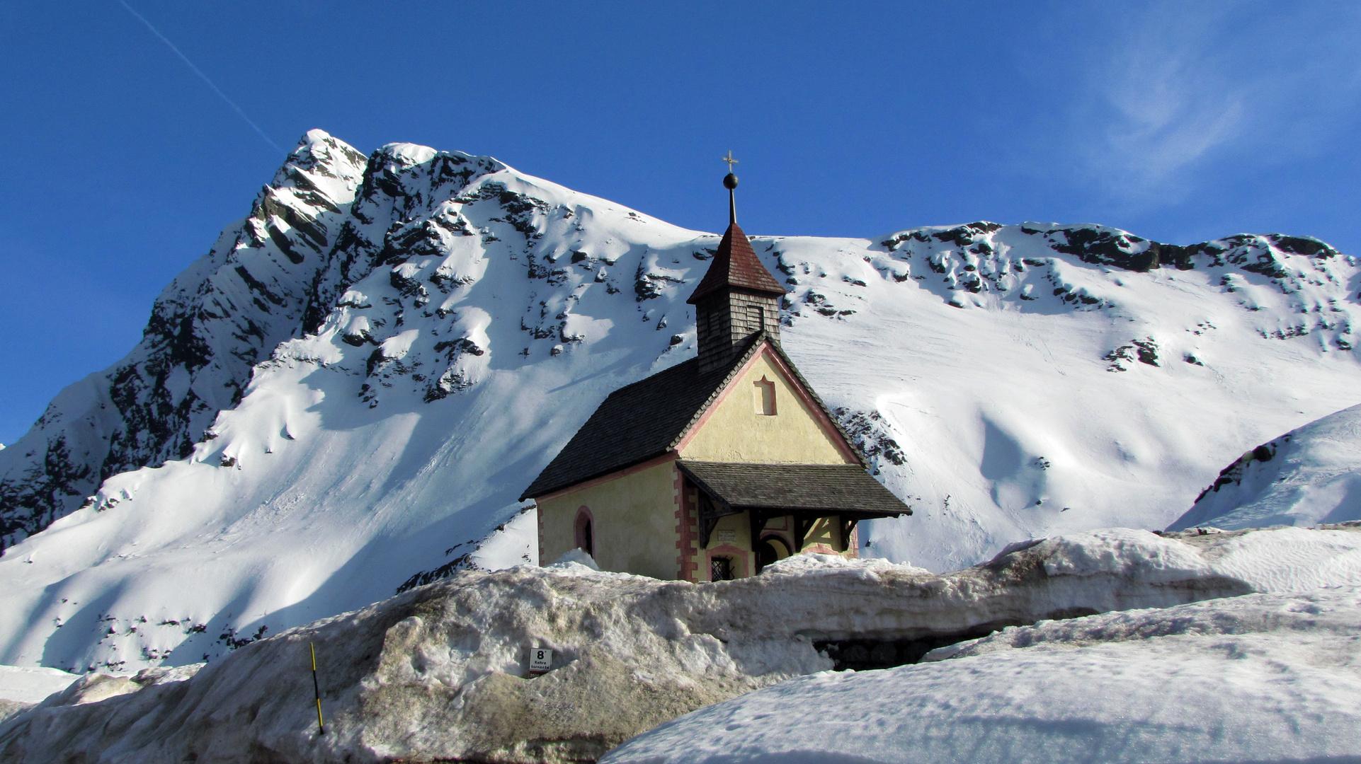 Kapelle am Jaufen