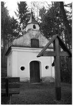 Kapelle am oberen Ende des wachsenden Felsen