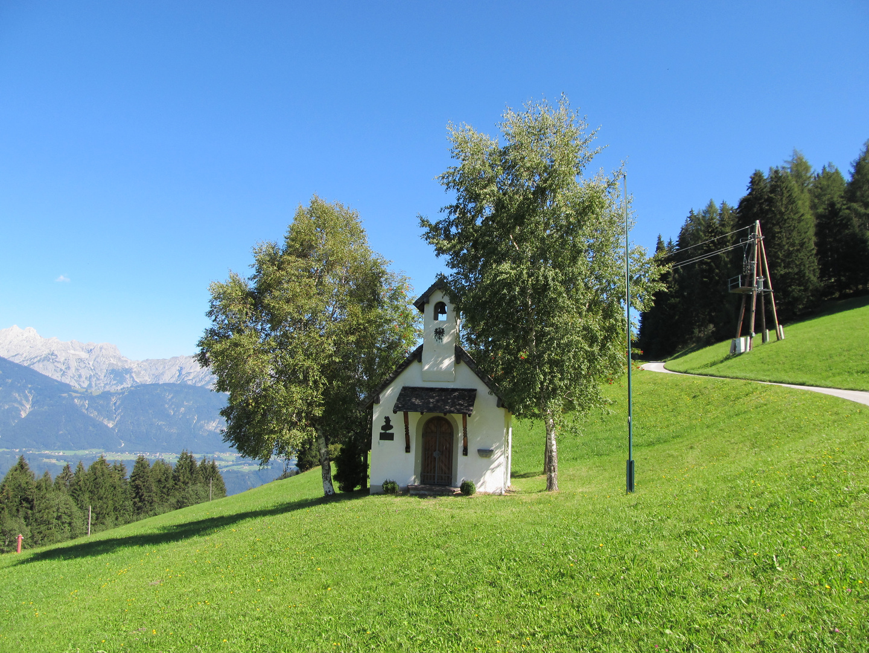 Kapelle auf dem Weg zum Largoz in den Tuxer Alpen