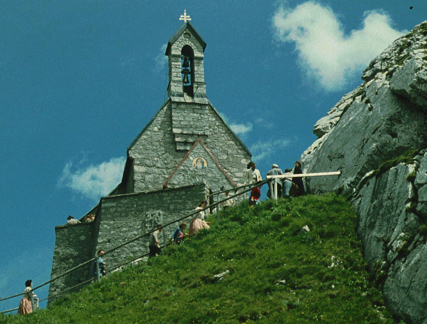 Kapelle auf dem Wendelstein