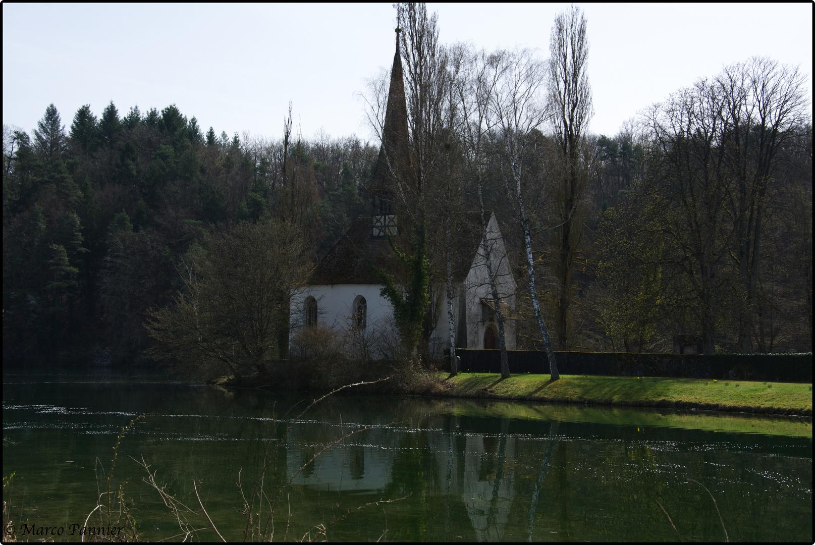 Kapelle auf der Klosterinsel Rheinau
