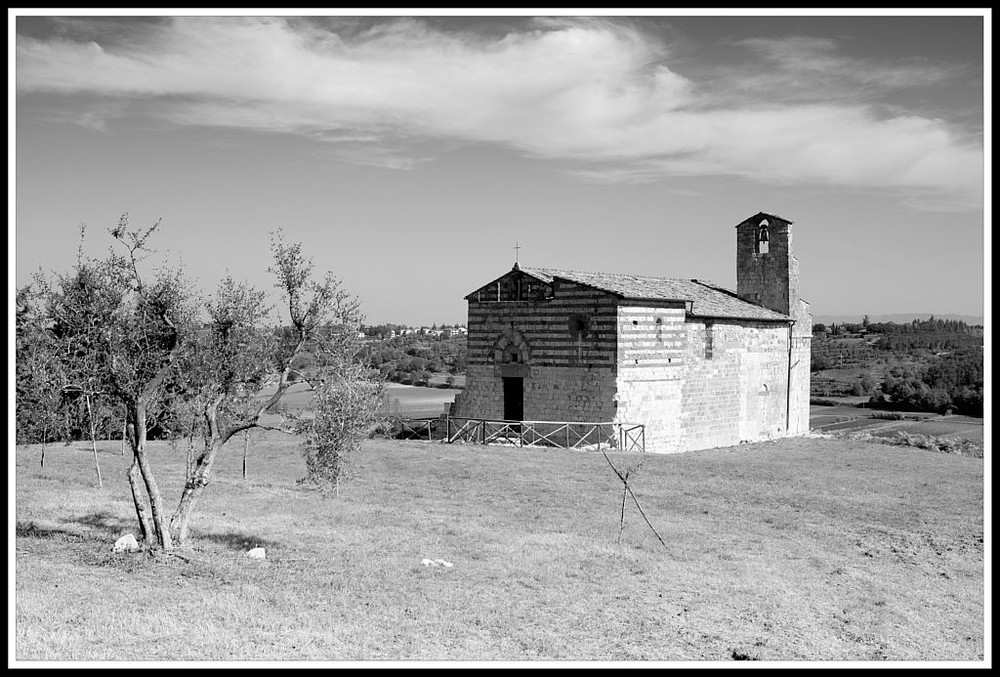 Kapelle bei Volterra