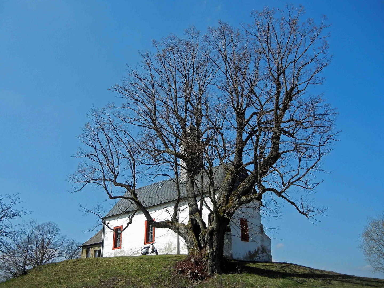 Kapelle bei Wallersberg (Vespatour am 2.3.2011)