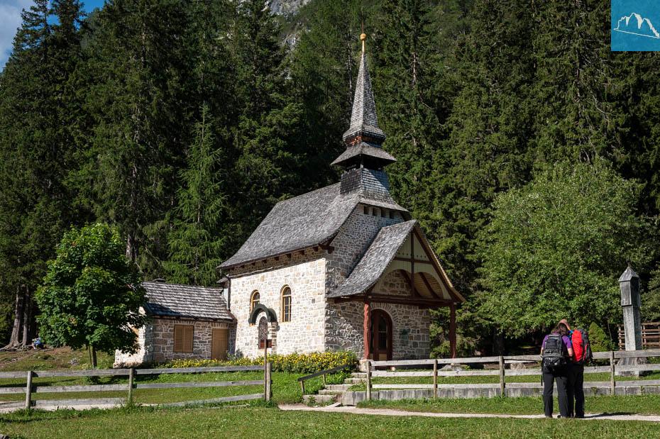 Kapelle beim Pragser Wildsee
