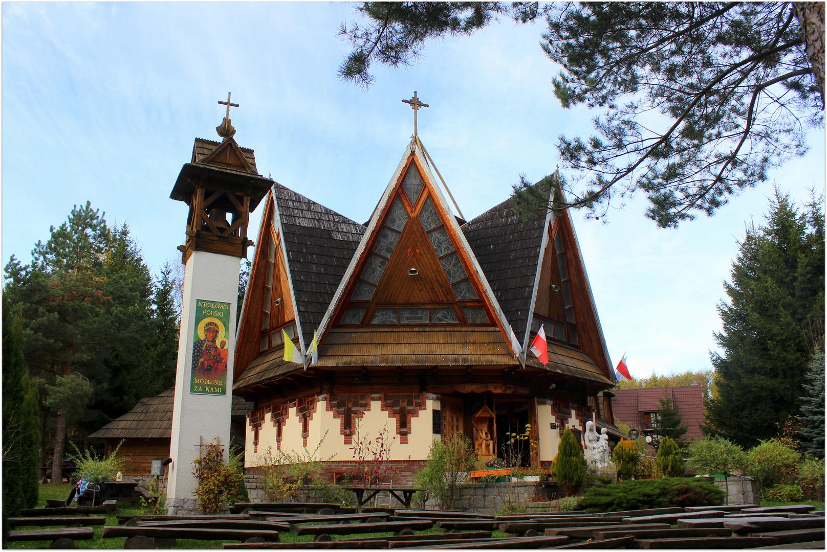 Kapelle der Mutter Gottes in Sillingtal / Sulistrowiczki im Zobtengebiet