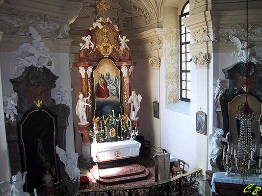 Kapelle im Schloß Rosenau