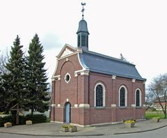 Kapelle in Berverath, im Braunkohletagebau Garzweiler II