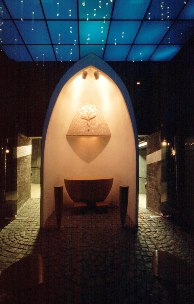 Kapelle in der Grotte des Nordkap (Norwegen)