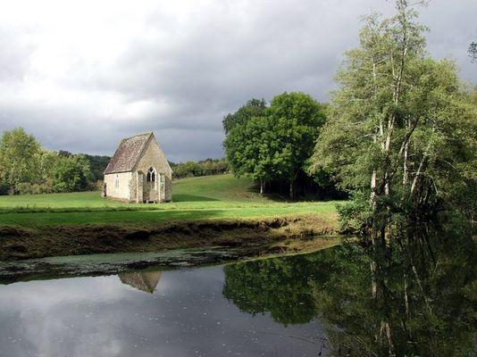 Kapelle in der Normandie