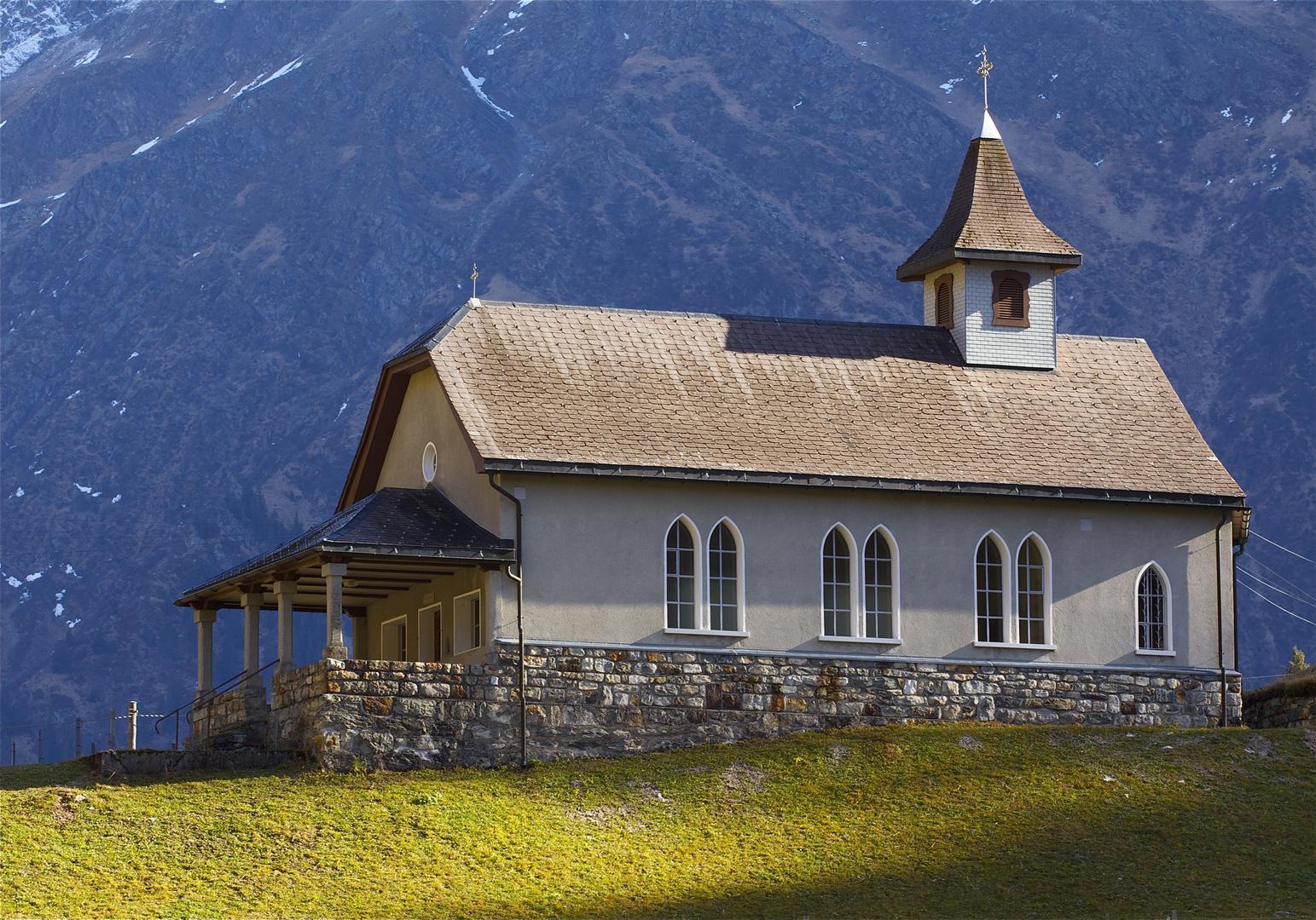 Kapelle in Golzern , Uri