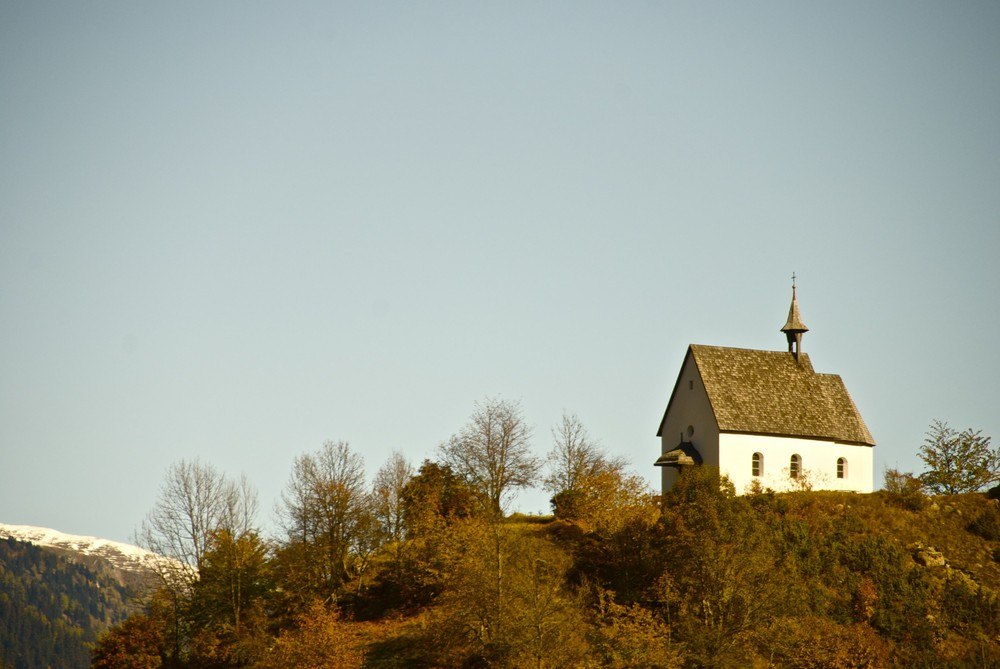 Kapelle in Mühlebach (CH)