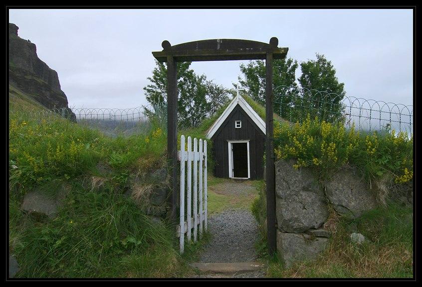 Kapelle in Núpsstaður