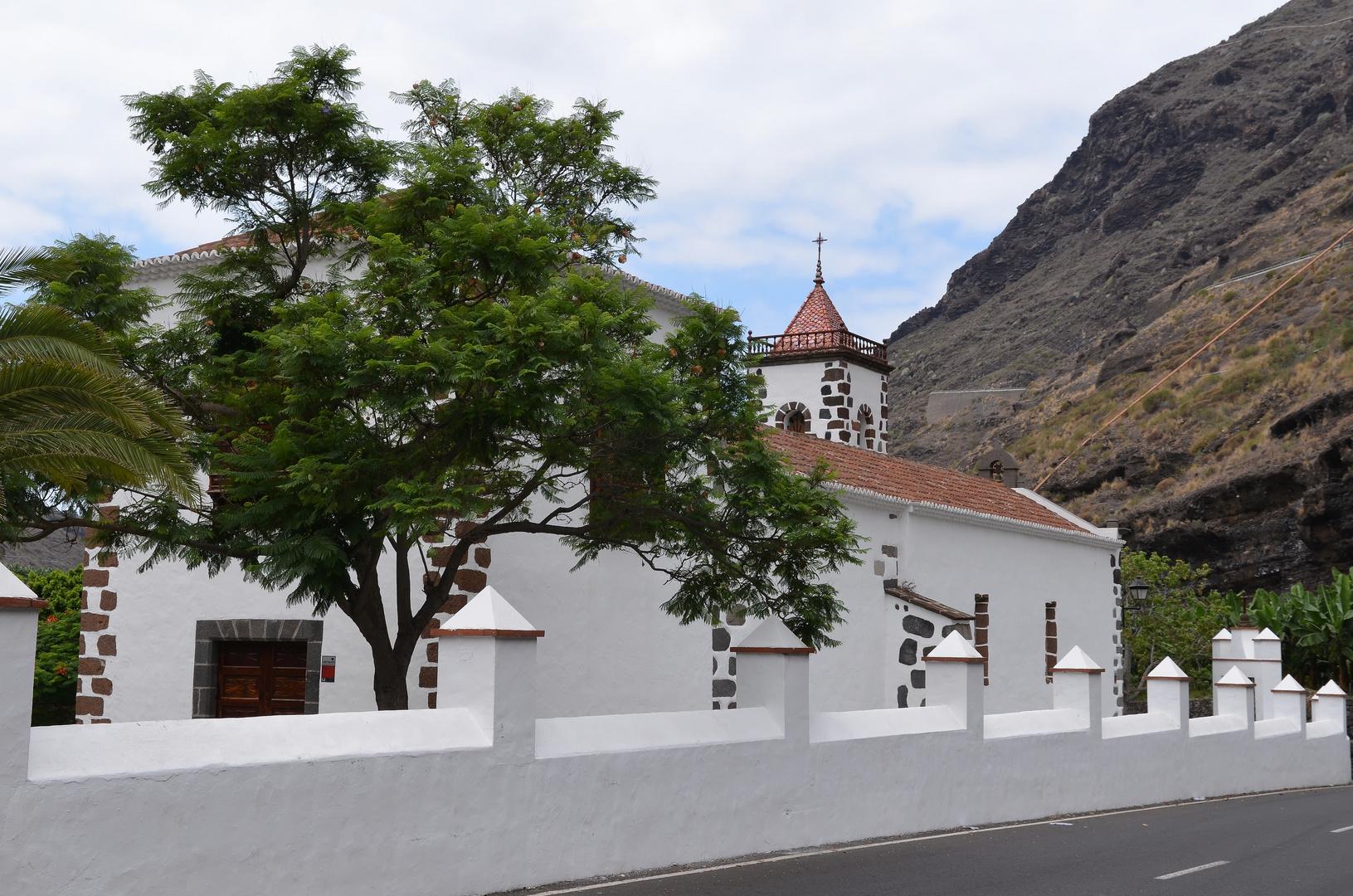 Kapelle Nuestra Senora de las Angustias, La Palma, August 2013