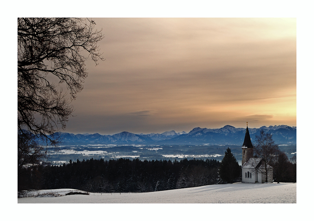Kapelle St. Josef in Strallen, Peißenberg...