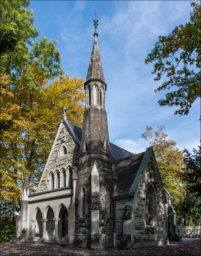 Kapelle vom Englischenfriedhof in Meggen