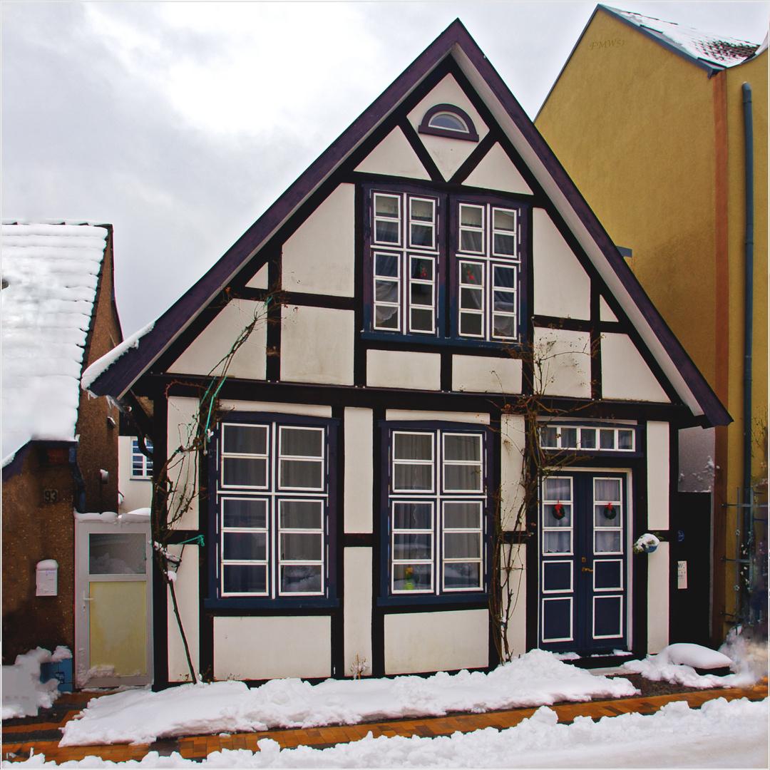 Kapitänshaus in Warnemünde