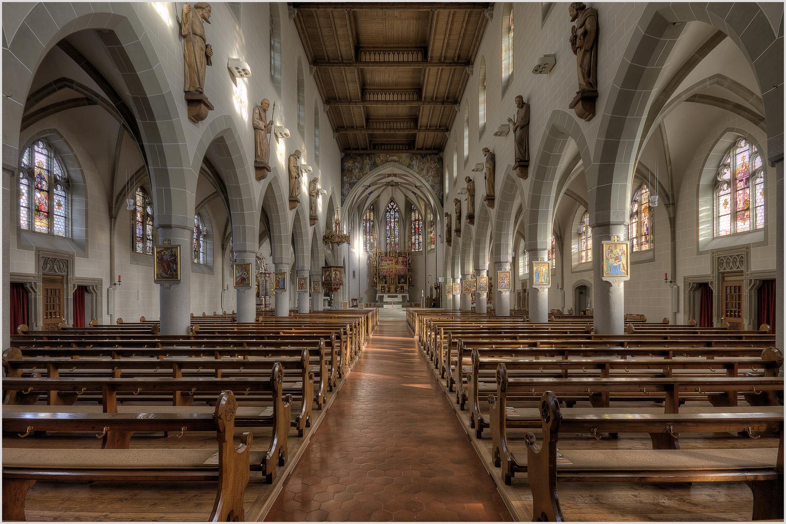 Kappelrodeck-St. Nikolaus Kirche
