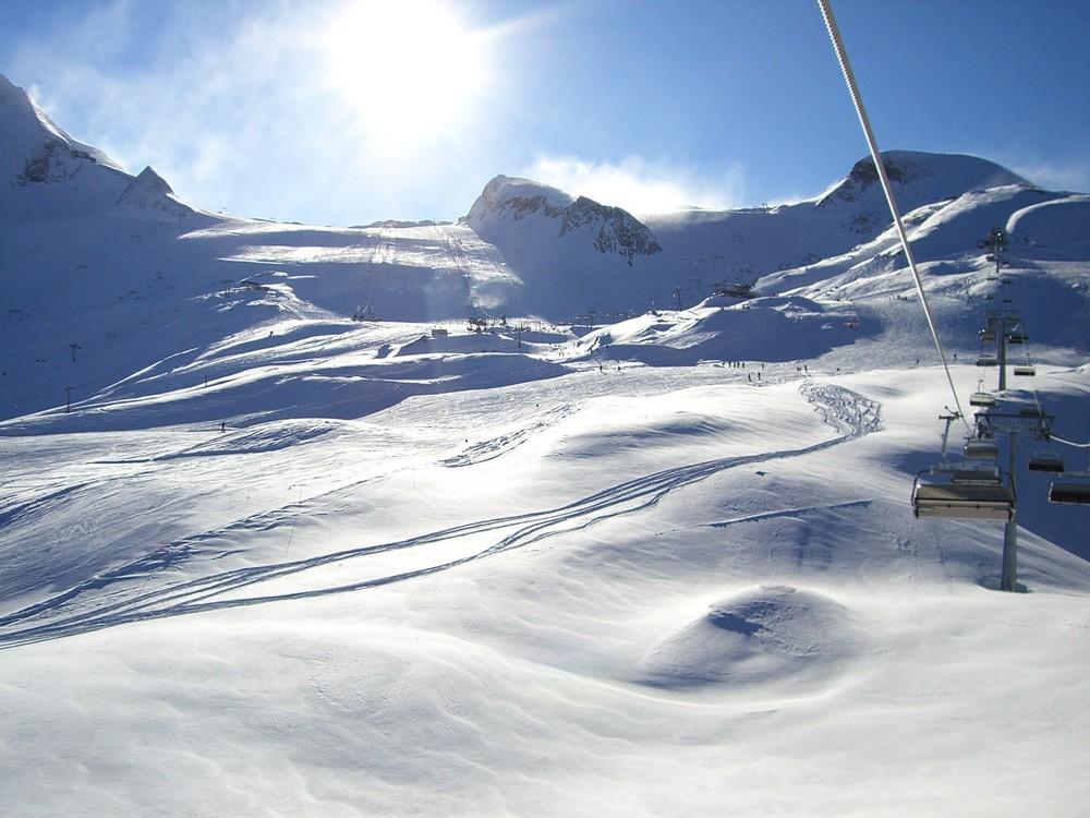 kaprun, kitzsteinhorn, gletscher