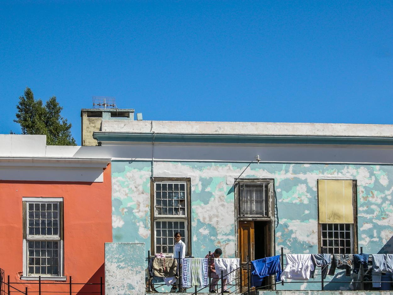 Kapstadt Straßen in Bo-Kaap