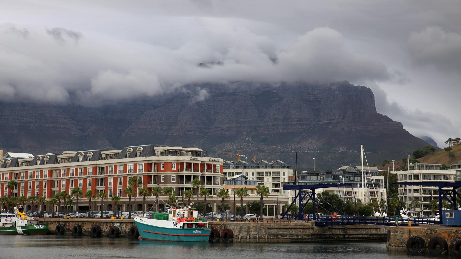 Kapstadt un der Tafelberg