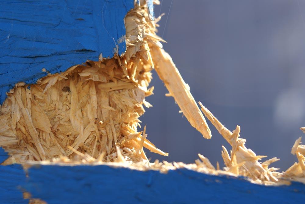 Kaputtes Holz