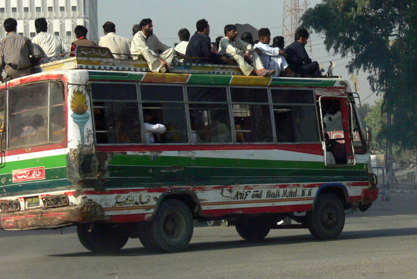 Karachi commute, 8.11.2007