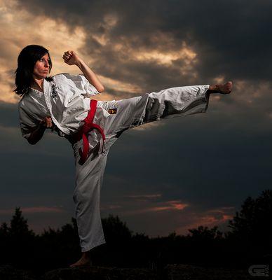 Karate@sunset