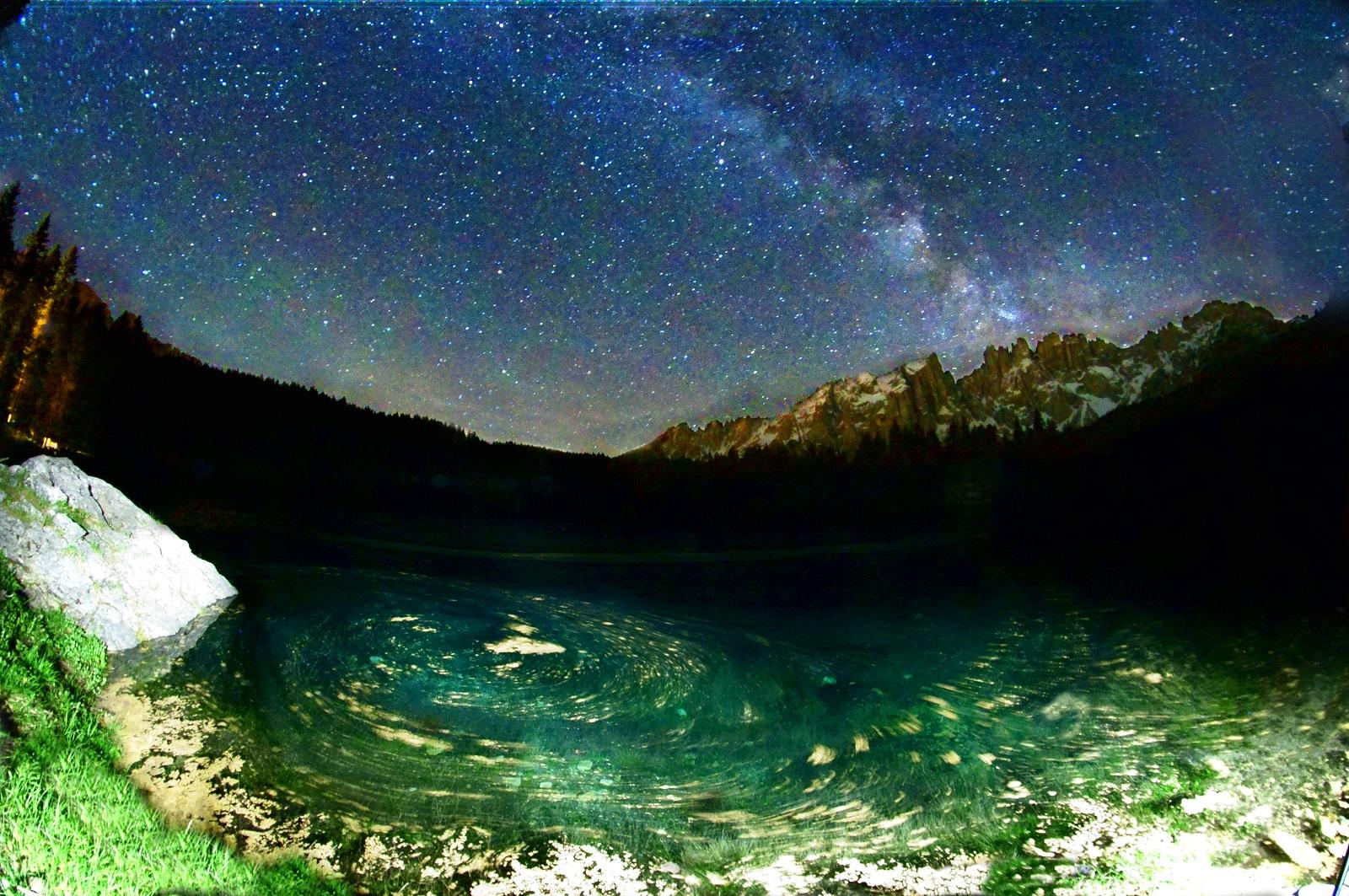karersee by night