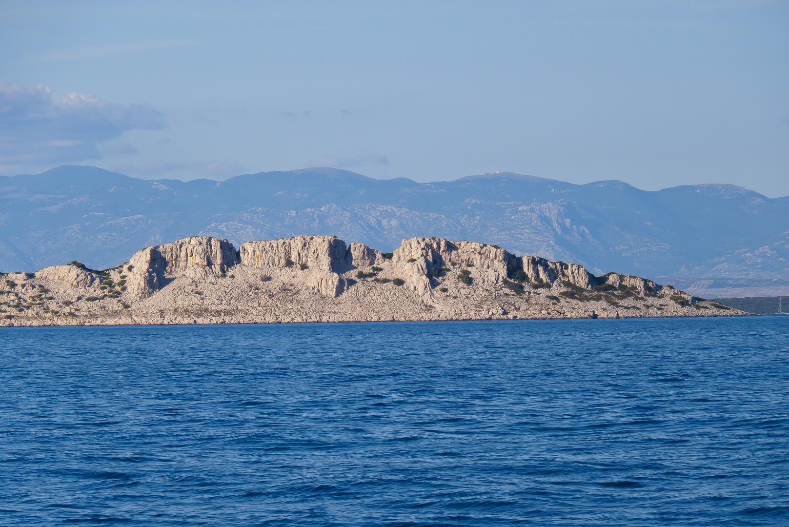 Karge Insel bei Molat