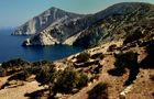 Karge Landschaft auf Fologandros