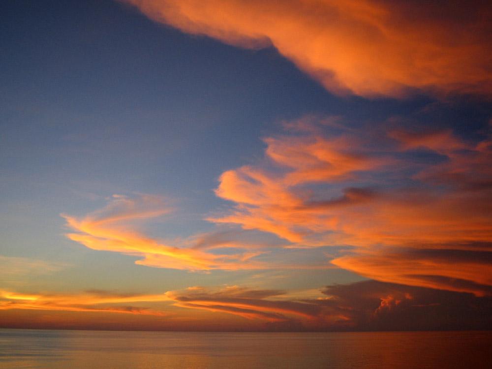 Karibik - abends - 32°