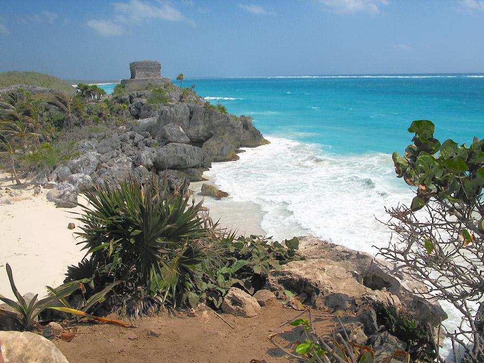 Karibik Maya Festung Tulum